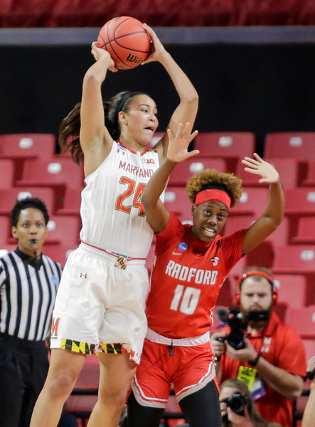 2019 Women's NCAA Tournament: Maryland vs Radford