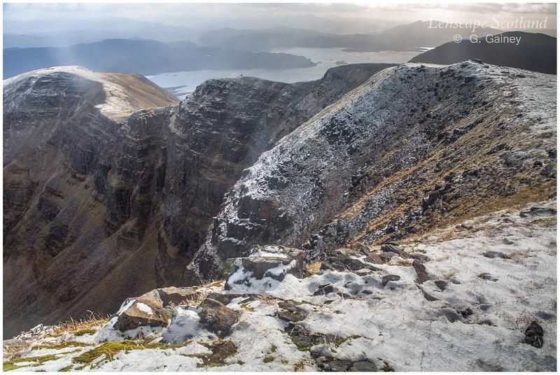 Beinn Bhan ridge