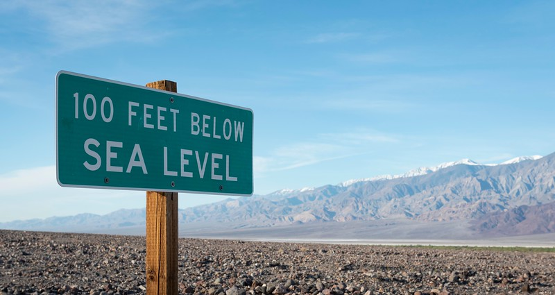 Near Furnace Creek;  Death Valley Nat'l Park