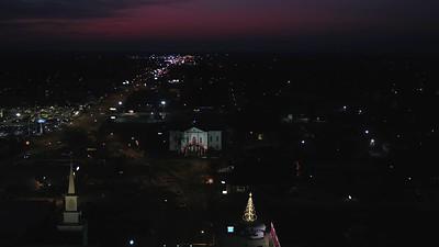 Night Flight over Mt. Vernon