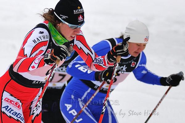 NORAM 2009 - Rossland - Sprints - Women