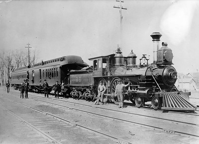 C&NW 4-4-0
