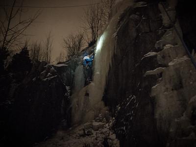 Jääkiipeilykurssi 25.1.2015