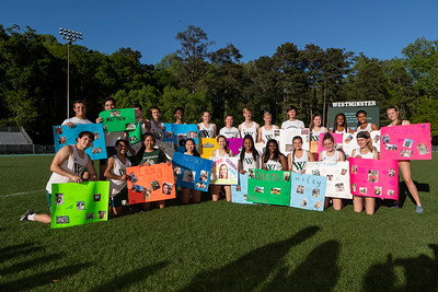 Track & Field Seniors, April 16, 2019