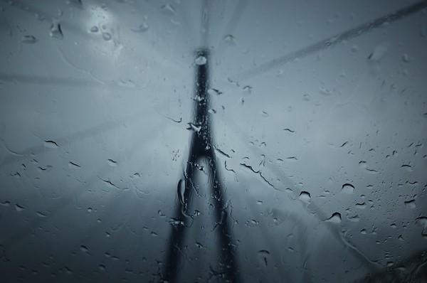 Rain on Autobahn