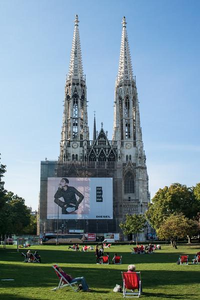 Votive neo-Gothic church