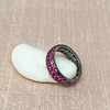 3.20ctw pink Sapphire Eternity Band, by Assil 5