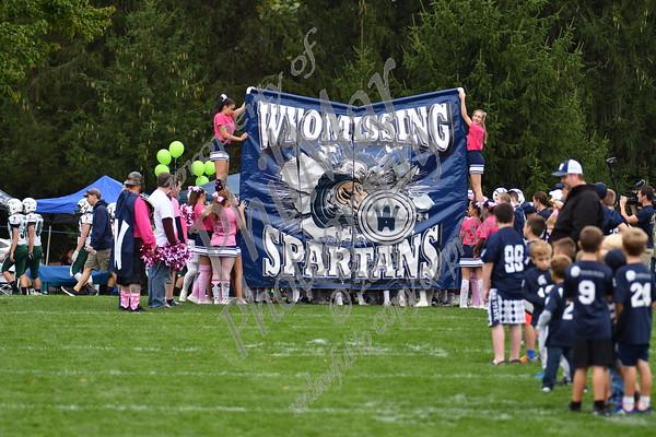 Wyomissing vs Twin Valley High School Football 2016 - 2017