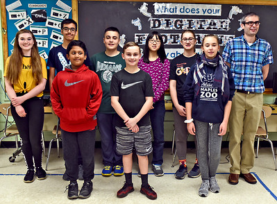 Locke School Knowledge Bowl  team - May 8, 2019