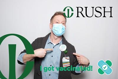 Rush - I got vaccinated!