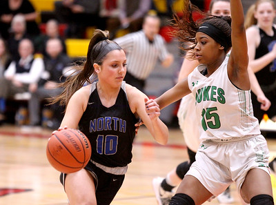 St. Charles North Girls Basketball regional