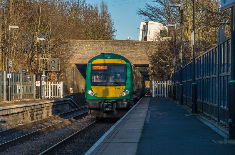 London Midland turbostar to Worcester