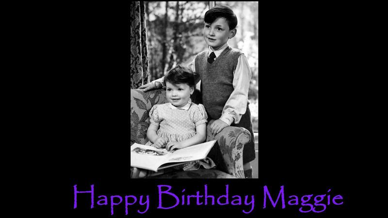 Maggie's 63rd Birthday 2015