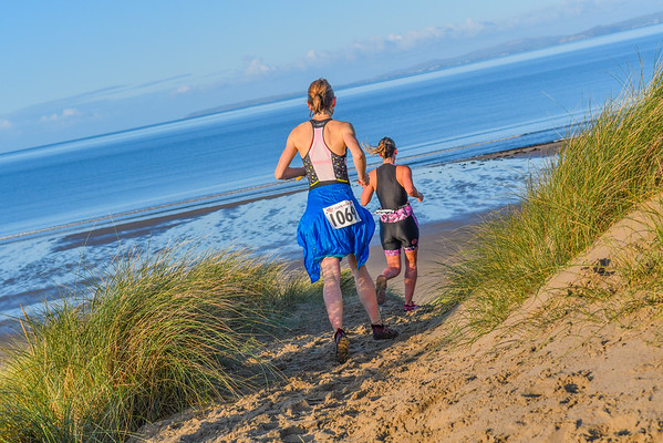 Harlech Aquathlon - Sand Dunes Before Beach