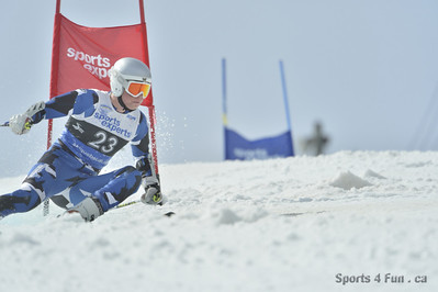 FIS SPRING SERIES - Giant Slalom, Men CAN - QC - STONEHAM 3/31/2013
