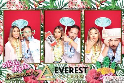 Aloha Nights 2018  Everest Booth