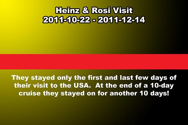 2011-10-22 Rosi & Heinz Visit