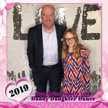 Stonebriar Daddy Daughter Selfie Booth