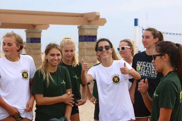 Edison HSGirls VB Beach Gathering 21Sept.2015