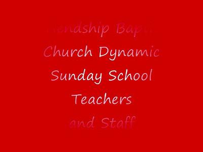 Friendship Baptist Church TeachersMontage