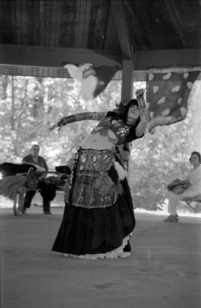 World Belly Dance Day in Black and White