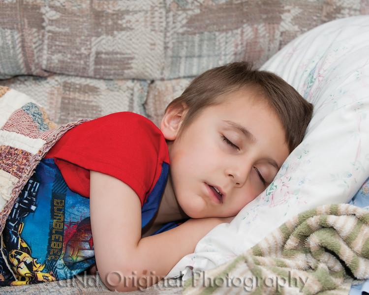 21 Declan Feeds The Ducks - Declan Sleeping.jpg
