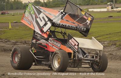 Brockville Ontario Speedway - 8/7/21 - Rick Young