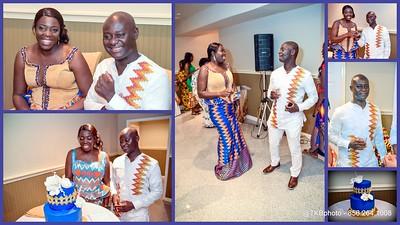 Reception - Maame & Asamoah