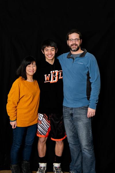 WBL Wrestling January 31, 2020 Family Pictures
