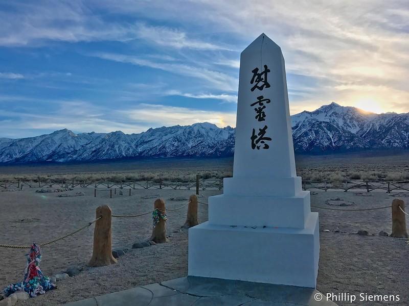 Manzanar cemetery