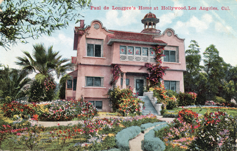 Paul de Longpre's Home