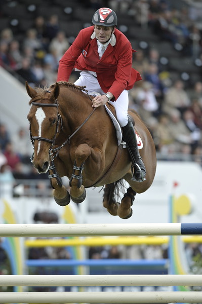 JUMPING : Werner MUFF sur Kiamon COUPE DES NATIONS 2012 -  CSIO DE LA BAULE 2012 - PHOTO : © CHRISTOPHE BRICOT