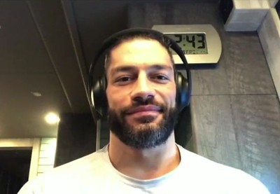 """Roman Reigns - Screencaps / Interview with """" The Herd"""""""