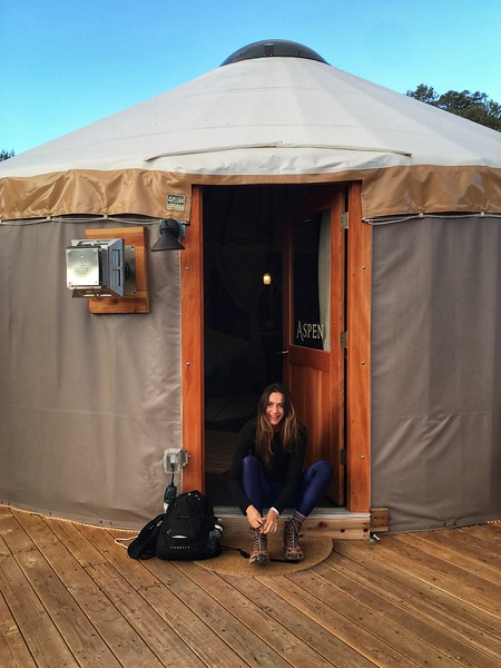Yurt Life - our residence in Utah - highly recommended