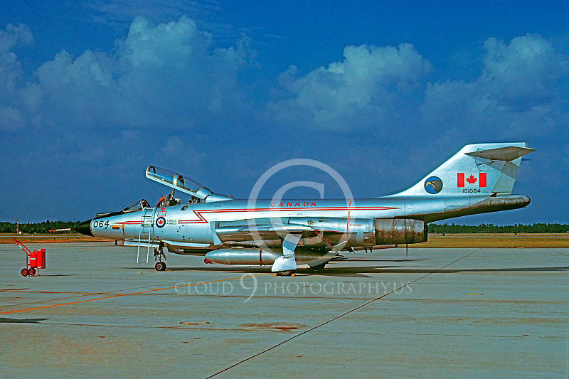 F-101BForg 00017 McDonnell F-101B Voodoo Canadian Armed Forces 101064 Tyndall AFB October 1978 by Peter J Mancus .JPG