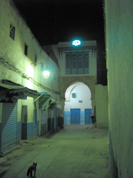 Alley to Essouraya Tunis