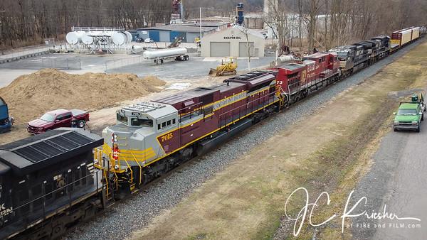 Norfolk Southern - 14R w/ CP HU 7015 - 02/20/2020