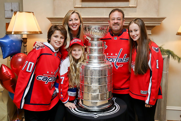 Stanley Cup at the Fernandez Residence December 11, 2018