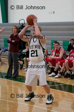 B JV Basketball Holliston v Westwood 12_20_11