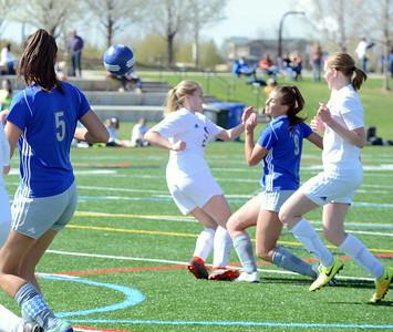 Resurrection Christian girls soccer vs. Estes Park 4/25/19