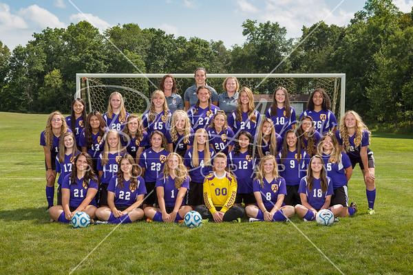 Girls Soccer Team 2017
