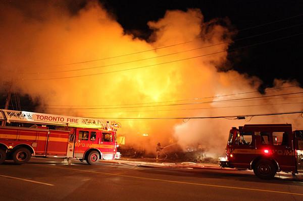 November 7, 2009 - 2nd Alarm - 645 Warden Ave.