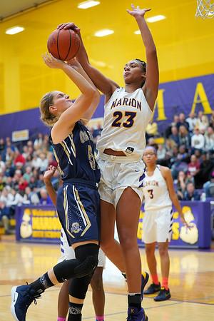 Marion vs Oak Hill Girls Basketball 11-6-18