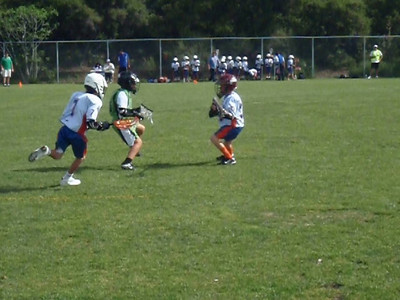 Henry's Lacrosee game against T.O. white