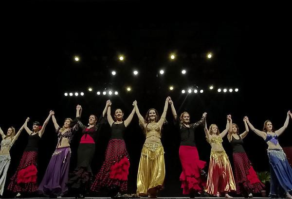 Groupes flamenco + danse orientale