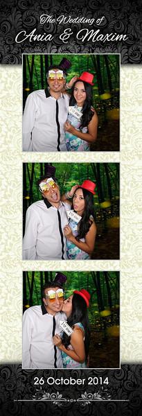 Wedding of Ania & Maxim Photostrips
