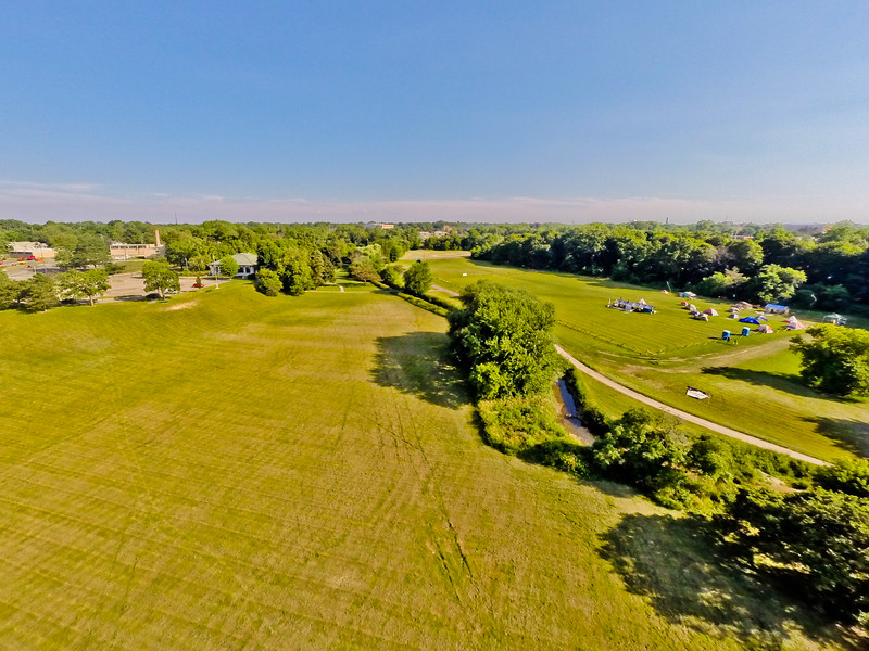 High-noon Summer at the Park 26 : Aerial Photography from Project Aerospace