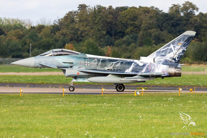 "Germany - Air Force | Eurofighter EF2000 Typhoon | 30+68 | ""Sword of Boelcke"" special scheme"