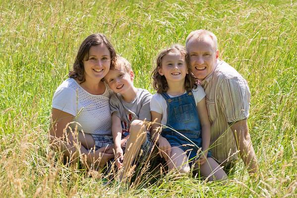 Dave, Julie, Emma and Sam