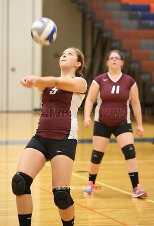 Penn Yan/Dundee Volleyball 9-8-15
